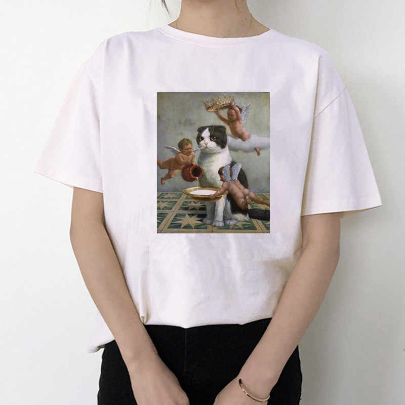 2020 Musim Panas Penjaga Hebat Gelombang Jepang T Shirt Pria/Wanita Estetika Lucu Kapas Keren Vintage Harajuku Streetwear Anime Tshirt