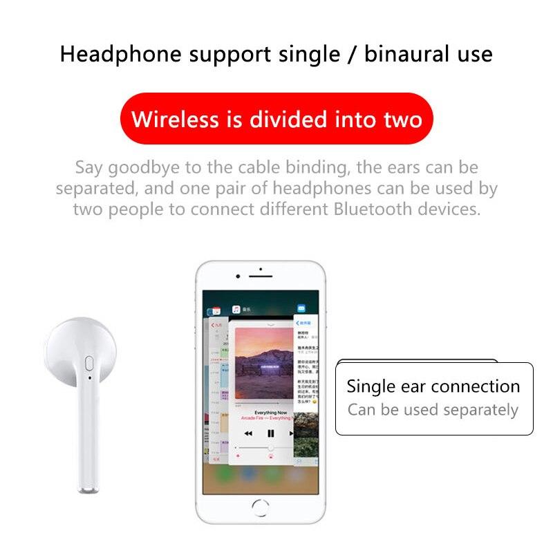 Image 5 - I8mini Mini Bluetooth Headset Binaural Stereo Sound Pop up Window TWS Wireless Bluetooth 5.0 Earphone With 400 mAh Changing Bin-in Bluetooth Earphones & Headphones from Consumer Electronics