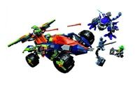 Gifts Pogo Bela 10704 Pogo Nexus Knights Powers Pouvoirs Aaron Lance Clay Building Blocks Bricks Compatible Toys