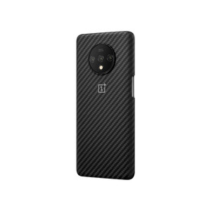 Image 5 - الأصلي الرسمي OnePlus 7T واقية حافظة كاربون الحجر الرملي النايلون الوفير الغطاء الخلفي شل ل OnePlus 7T