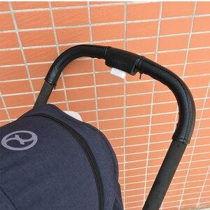 Image 4 - รถเข็นเด็กทารกอุปกรณ์เสริมหนังป้องกันกรณีจับสำหรับ CYBEX EEZY S S + TWIST รถเข็นเด็ก