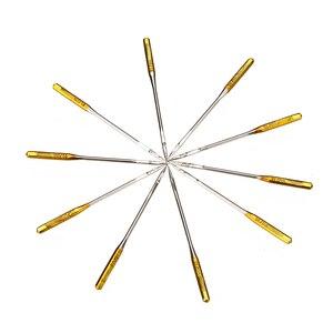 Image 2 - 50pcs מחטי מכונת תפירה 90/14 No.14 זהב פלדת מחט עבור הזמר עמיד ביתי תפרים אבזרים