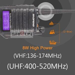 Image 5 - 8W Baofeng UV 9R IP67 להקה 136 174/400 520MHz חם רדיו 10 KM Baofeng 8W מכשיר 10 KM UV 9R UV 82 UV XR