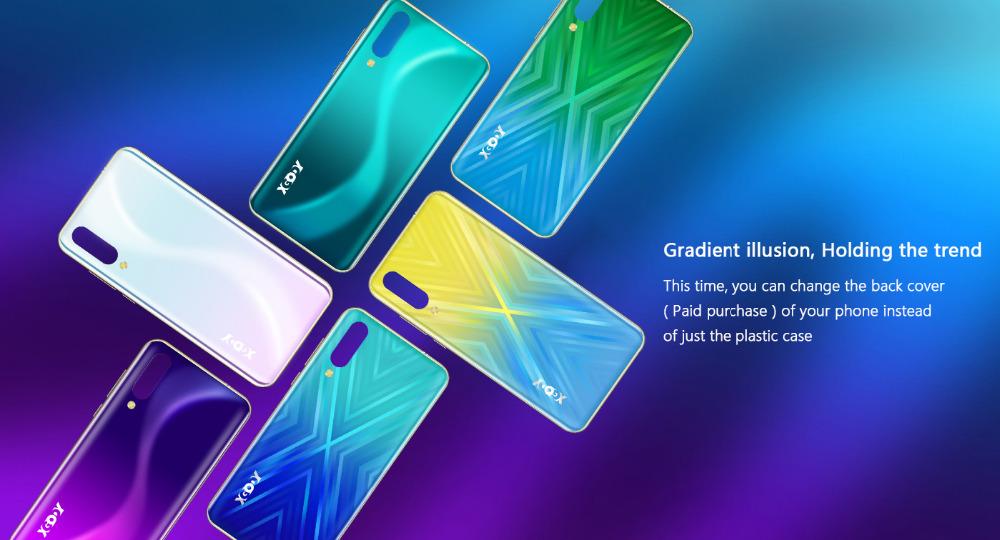 Xgody 3G teléfono móvil Note7 2GB 16GB Smartphone 6,26 7