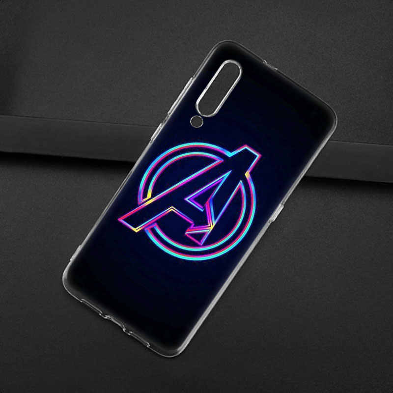 Marvel Avengers Infinity War Hero Silicone Case For Xiaomi Mi Note 10 9T CC9 E 9 Pro A3 Lite Play Redmi Note 8T 8 8A 6 Pro 6A 4X