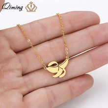 QIMING Dainty Banana Fruit Necklace For Women Fashion Monkey King Kong Diddy Ape Vegetable Peel Trees Chimpanzee Necklace(Hong Kong,China)