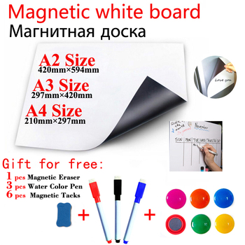 Szkolna tablica magnetyczna dla dzieci łatwe wymazywanie białych tablic naklejki na lodówkę dla dzieci Home Office tablice informacyjne magnesy naklejki ścienne