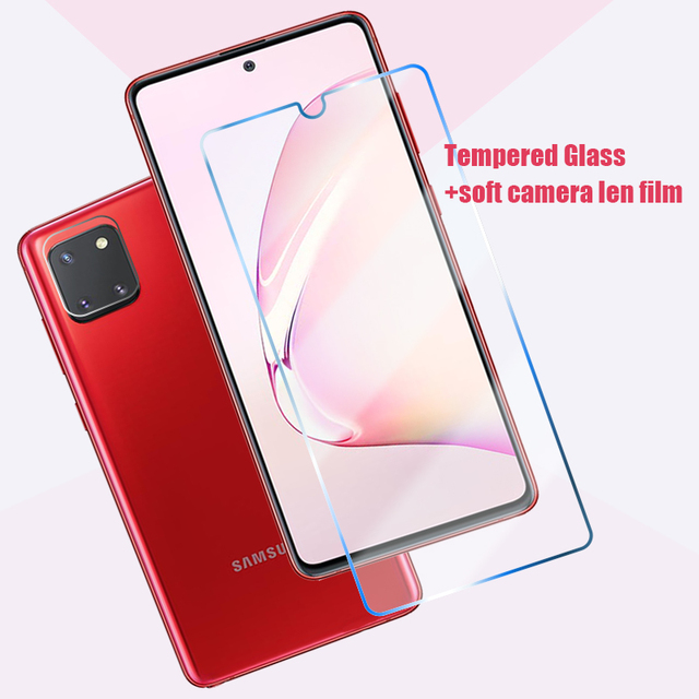 4in1 Tempered Glass for Samsung Galaxy A51 A52 A42 A32 5G Camera Screen Protector for Samsung A71 A72 A12 A21S A31 A41 A11 Glass 2