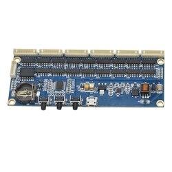 DIY Di 14 Qs30 In12 Tabung Nixie Jam Digital Kit 5V Modul Papan dengan Kabel Datar