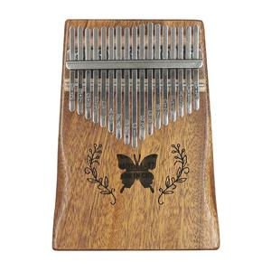 Image 3 - 6 стилей, инструменты для начинающих, 17 клавиш, узор для большого пальца, фортепиано, корпус из красного дерева, музыкальный инструмент, 17 клавиш, клавиатура Kalimba, музыкальный инструмент