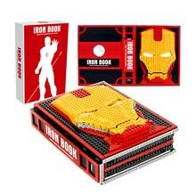 Новая коллекция MOC, Железный Паук, книга героев, человек, строительные блоки, Марвел Мститель, фигурка для детей, игрушки для мальчиков, подарок для детей