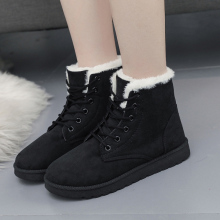 CXJYWMJL Womens Snow Boots Winter Ankle Warm Women Antiskid Outsole Lady 6857