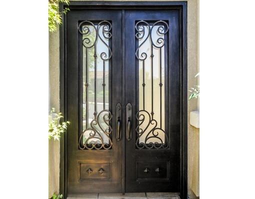 Shanghai Hench Brand China Factory 100% Custom Made Sale Australia Wrought Iron Front Door Gates