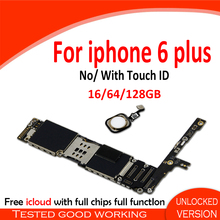 Unlocked iPhone Touch-Id for 6-Plus Without/with 64G/128G