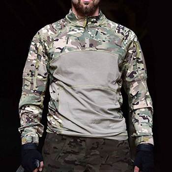 New Men Combat Shirts Proven Tactical Clothing Military Uniform CP Camouflage Airsoft Hunting Army Suit Breathable Work Clothes 5