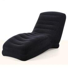 Большой портативный надувной Lounge одно сиденье софа кровать кемпинг стулья воздуха диван-кровать Blow UP пляж диван
