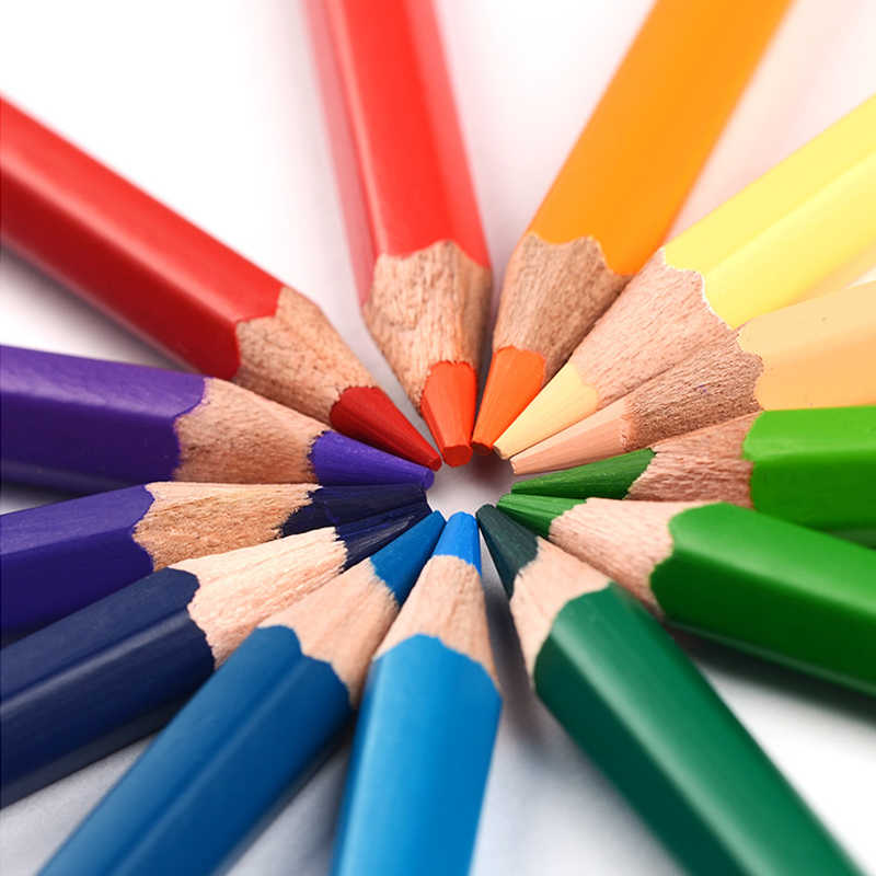 Marco 24/36/48/72 สีดินสอสีน้ำมันชุดศิลปินวาดดินสอสี Crayon De Couleur colores Para Pintar สายรุ้งสี