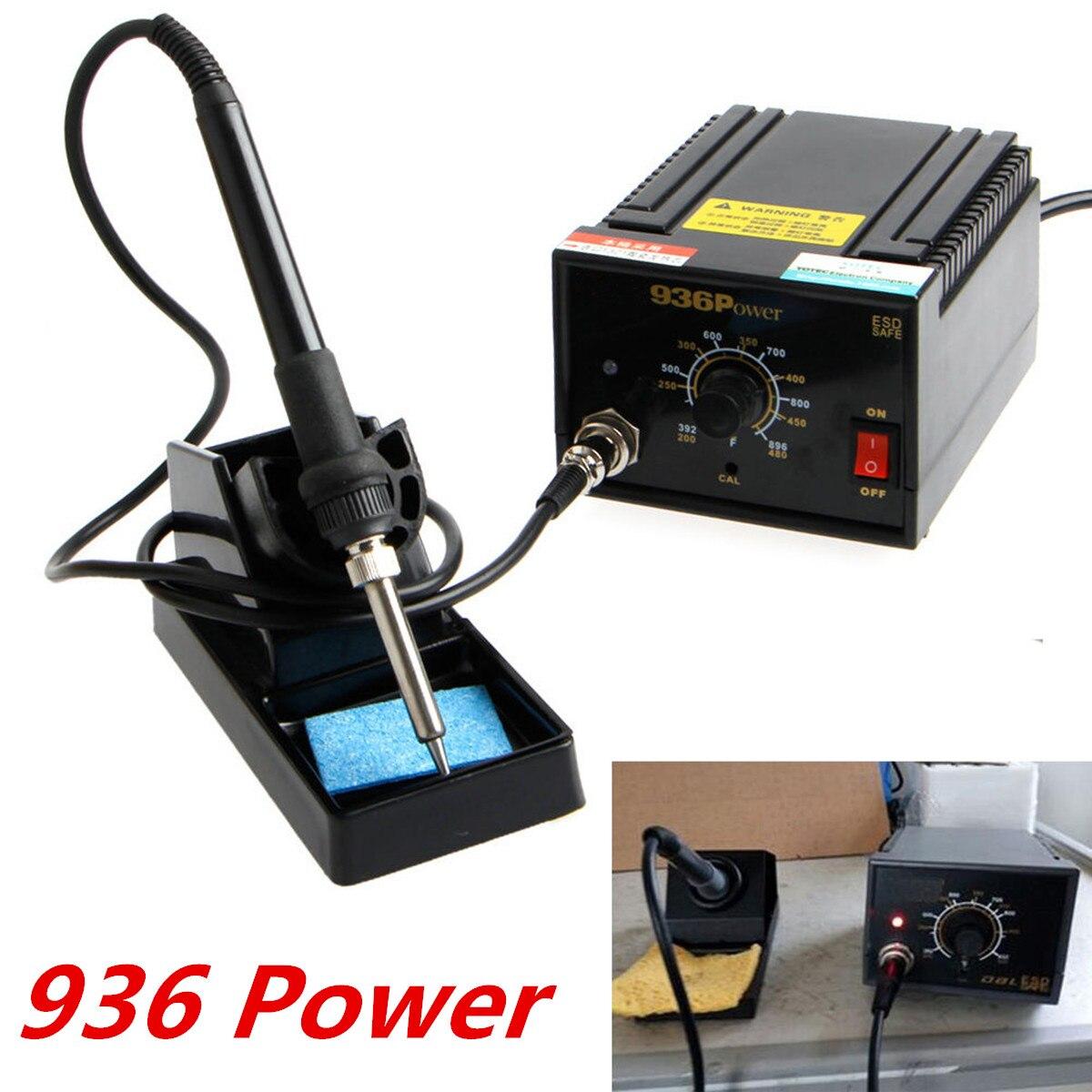 110V / 220V 75W 936 Soldering Station Electric Solder Iron Inverter Frequency Change Rework Stations