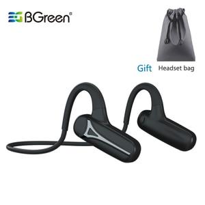 Image 1 - BGreen Bluetooth oreille ouverte Sport cyclisme casque étanche Sport en cours dexécution écouteurs Super léger sans fil stéréo randonnée casque