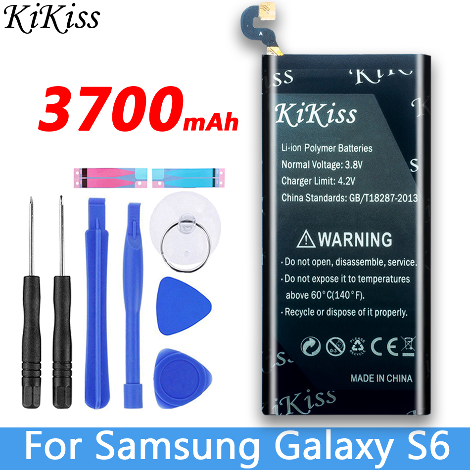For <font><b>Samsung</b></font> GALAXY <font><b>S6</b></font> <font><b>SM</b></font>-G920 <font><b>G920F</b></font> G920i G920A G920V G9200 G9208 G9209 Mobile Phone Battery EB-BG920ABE For <font><b>Samsung</b></font> <font><b>S6</b></font> image