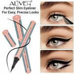 Ultra-Thin Skinny Black Liquid Eyeliner Felt Tip Liner Eyeliner Eyes Charming Beauty Makeup Long Lasting Waterproof Cosmetic image