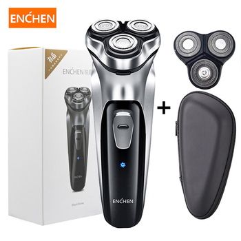 Xiaomi Enchen Men Electric Shaver Type-C USB Rechargeable Razor 3 blades portable beard trimmer cutting machine for sideburns