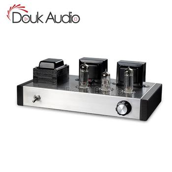 Douk Audio 6N2+6P1 Vacuum Tube Amplifier Stereo Integrated Class A Power Amp 4W+4W Pure Handmade