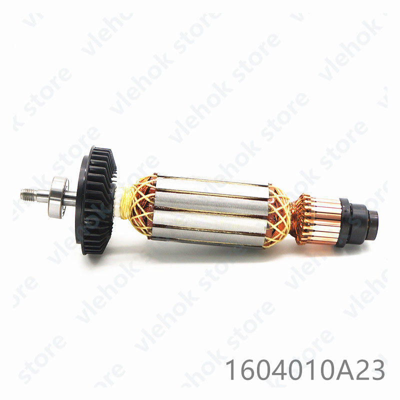 Armature Rotor For BOSCH GWS14-150CI GWS14-125CIT GWS14-125INOX GRB14-CE 1604010A23 Power Tool Accessories Electric Tools Part