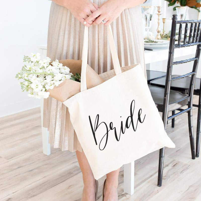Mother of the Bride groom tote Bag Bridesmaid Gift Maid Of Honor rustic wedding Bachelorette hen Party bridal shower decoration
