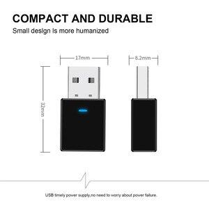 Image 3 - Bluetooth приемник VIKEFON, передатчик Bluetooth 5,0, ключ AUX, RCA, USB, разъем 3,5 мм, аудио, беспроводной адаптер для ТВ, ПК, автомобильный комплект