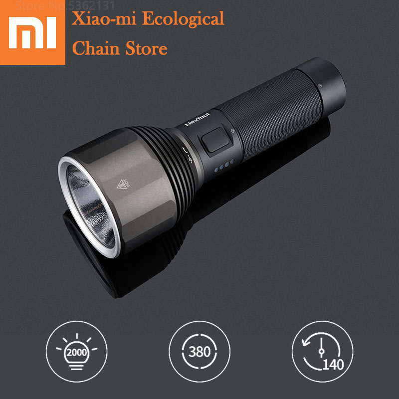 Xiaomi NexTool Outdoor Flashlight 2000LM 5 Models Multi-function Brightness IPX7 Waterproof Portable Bike Camping Flash Light