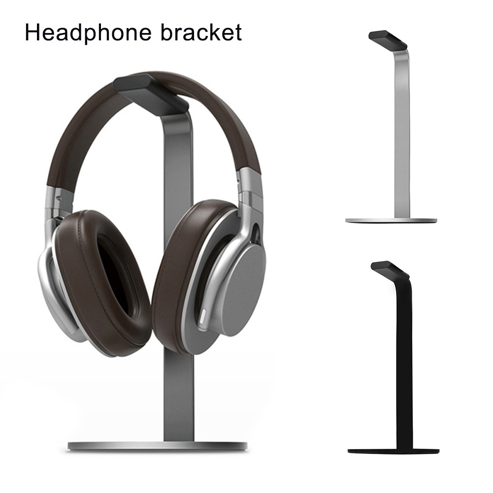 Durable Aluminium Alloy Headset Stand Holder Desktop Headphone Display Rack Bracket Convenient To Use