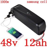 36 v 48 v 52 v bateria de íon de lítio 36 v 48 v 52 v 9ah 12ah 15ah 18ah uso da bateria de bicicleta elétrica samsung célula para 500 w 750 w 1000 w motor