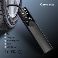Camason-bomba de aire inteligente para inflar neumáticos, compresor automático portátil para motocicleta, bicicleta, baloncesto, inflable
