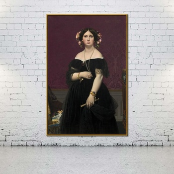 Artcozy Oil Canvas Painting jean auguste dominique ingres figure paintings For Home Decoration Wall Art image