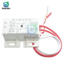 Module de commutation de capteur infrarouge automatique 220V AC 50Hz, interrupteur de capteur Radar à micro-ondes, Mini capteur PIR, commutateurs intelligents