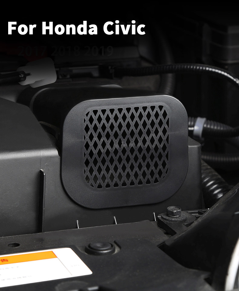 2017 Honda Civic Engine Splash Shield : honda, civic, engine, splash, shield, Honda, Civic, Engine, Compartment, Intake, Cover, Mouse, Mosquito, Protection, Modification, Accessories|Interior, Mouldings|, AliExpress