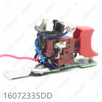Switch for BOSCH GDR10.8 LI PS41 GDR12V 105 GDR12 LI 16072335DD Power Tool Accessories Electric tools part