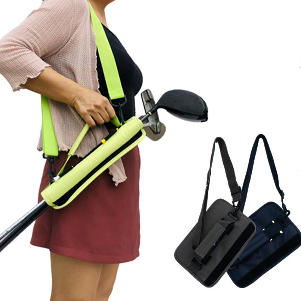 Golf Club Bag Carrier Protection Simple Portable Golf Grip Bags For 3-4 Clubs Accessories