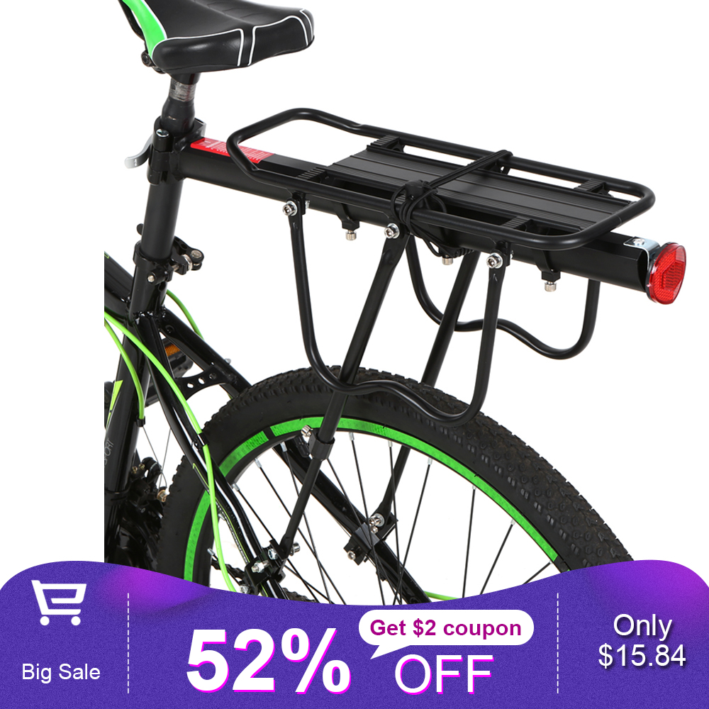 Bike Bicycle Luggage Seat Quick Release Post Pannier Carrier Rear Rack Fender