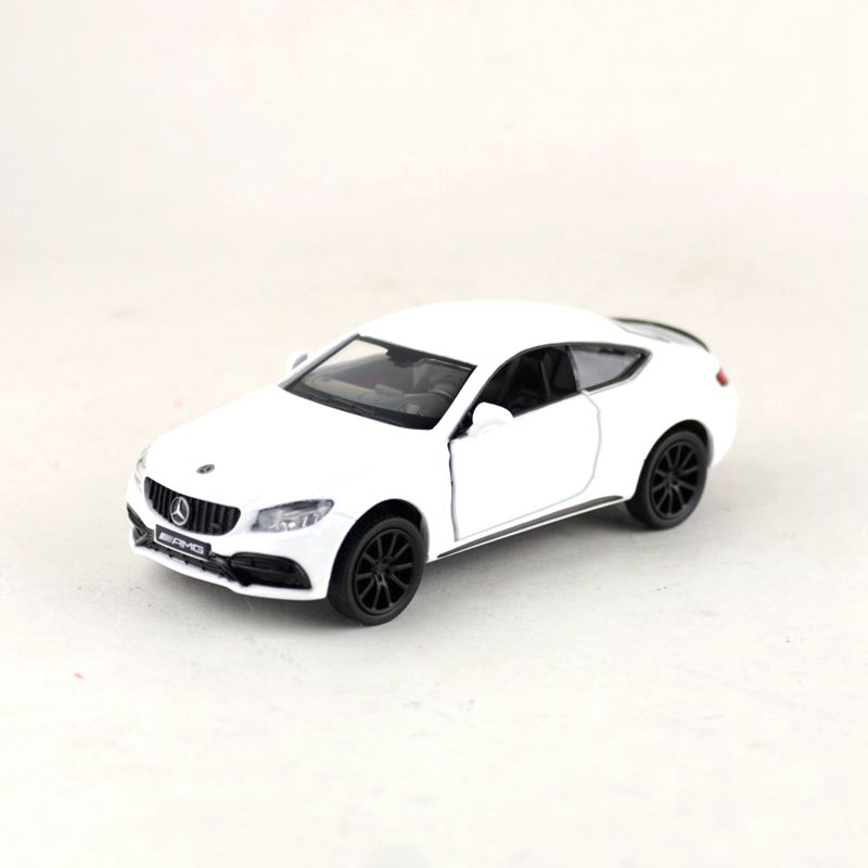 RMZ City/1:36 Scale/Diecast Metal Toy Car Model/C63 S AMG Super Racing Car/Educational Pull Back Collection/Gift For Children