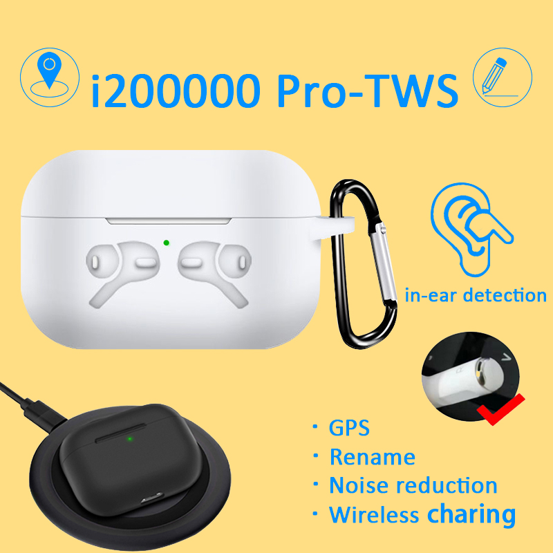 <font><b>Original</b></font> i200000 Pro <font><b>TWS</b></font> Aire pro3 1:1 Earbuds Wireless earphones Bluetooth headphone pk i10000 i20000 <font><b>i90000</b></font> pro i100000 <font><b>TWS</b></font> image