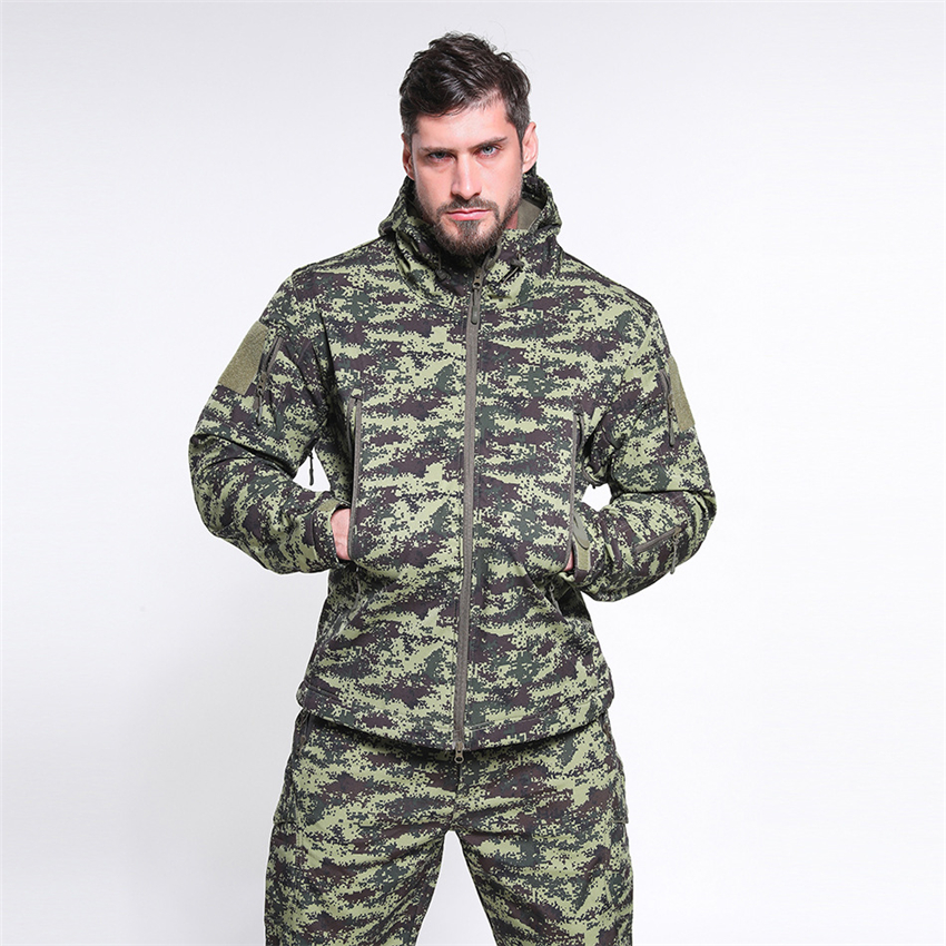 Camouflage Jacket Unisex Military Waterproof Special Forces Uniform Men Coat Women Army Clothes Tactical Clothing Special Forces
