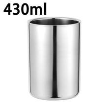 280 мл/430 мл нержавеющая сталь с двойными стенками кружка кемпинг кофе чай молоко напиток чашка