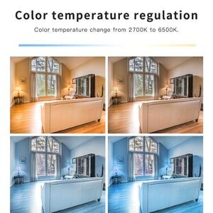 Image 5 - GLEDOPTO LED ZIGBEE ZLL 12W RGB + CCT הנורה צבעוני הנורה AC100 240V RGBCCT 2700 6500K LED הנורה תואם עם אמזון הד בתוספת