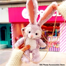 Rabbit Ear Hair Case For iPhone SE 2020 11 Pro Max 6 6s 7 8 Plus XS XR X Furry Cover For Samsung Note 10 + S10 S8 S9 S20 Ultra