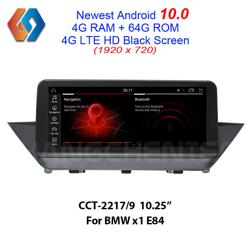 <font><b>Android</b></font> 10.0 4G 64G Car Touch <font><b>Screen</b></font> for BMW X1 E84 Supply with iDrive Button Built-in CarPlay BT WiFi GPS Multimedia <font><b>Navigation</b></font> image