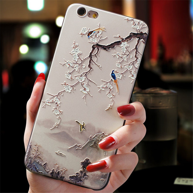 3D Emboss Flower Cover For Xiaomi Redmi Note 8 7 6 9 Pro 9S 5 7A 8A Mi A3 8 9 SE Note 10 Lite A1 5X A2 CC9 CC9e 9T Pro TPU Case 2