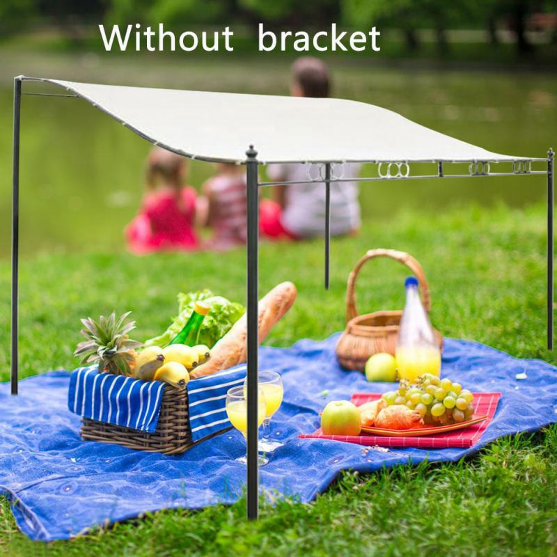 Water Resistant Tent for Patio Sun Shelter Beach Easy Install Picnic Outdoor Awning Gazebo Garden Roof Top Canopy Camping