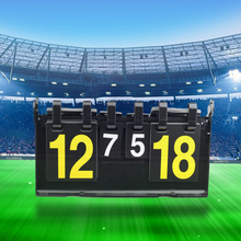 Competition Score Board Portable Digit Scoreboard Sports Scoreboard for Table Tennis Basketball Badminton Football Volleyball